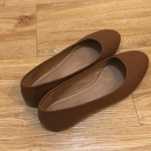 Madewell Reid Ballet Flat In Leather